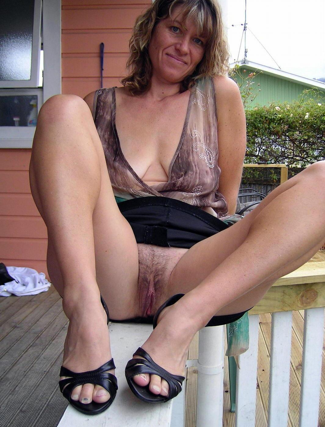 Mature upskirt shots